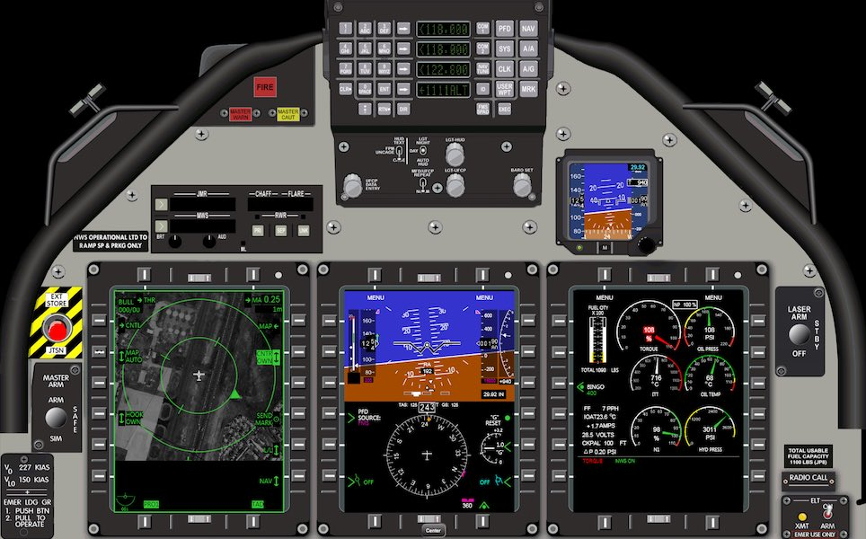 Applying Practices from Instructor Systems to Designing Simulated Aircraft Avionics